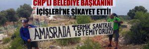 Termik santral kuramayan şirket, CHP'li belediye başkanını İçişleri'ne şikayet etti!
