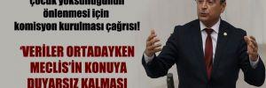 CHP'li Aydoğan'dan çocuk yoksulluğunun önlenmesi için komisyon kurulması çağrısı!