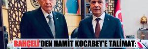 Bahçeli'den Hamit Kocabey'e talimat: HSK'dan istifa edin!
