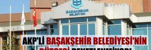 AKP'li Başakşehir Belediyesi'nin bütçesi denetlenmiyor!