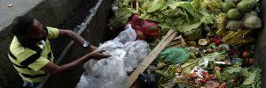 Brezilya'da insanların çöplüklerden hayvan artığı topladığı görüntüler tepki çekti
