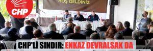 CHP'li Sındır: Enkaz devralsak da Türk tarımını yeniden ayağa kaldıracağız!