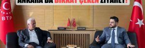 Ankara'da dikkat çeken ziyaret!