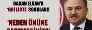 CHP'li Gök'ten Bakan Elvan'a gri liste soruları!