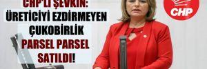 CHP'li Şevkin: Üreticiyi ezdirmeyen Çukobirlik parsel parsel satıldı!