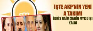 """AKP'nin yeni """"A takımı"""""""