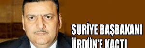 Suriye Başbakanı kaçtı !