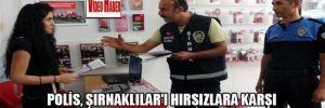 Polis,Şırnaklılar'ı hırsızlara karşı Türkçe-Kürtçe broşürle uyardı