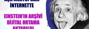Einstein'in aşk mektupları internette