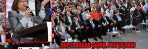 AKP'li Bakan Şahin, PKK'lıların kırılan kalplerini birleştiriyormuş!