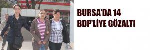 14 BDP'li gözaltında