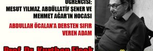 Kurthan Fişek'ten veda röportajı