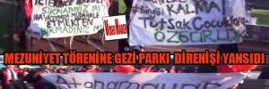 Eskişehir'de mezuniyet törenine gezi parkı direnişi yansıdı