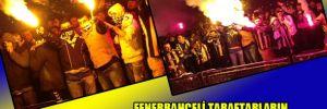 Fenerbahçeli taraftarların paraşütlü meşalesi İngiliz basınında