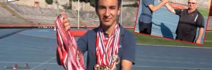 Engelli koşudaki deneme 35 madalya getirdi