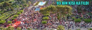 Adana'da Gezi Parkı eylemlerine 93 bin kişi katıldı