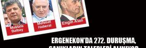 Ergenekon'da 272. Duruşma, Sanıkların talepleri alınıyor