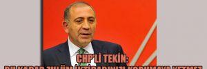 CHP'li Tekin: Bu kadar zulüm iktidarınızı korumaya yetmez