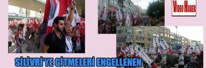 Silivri'ye gitmeleri engellenen TGB'liler Kadıköy'de bekliyor