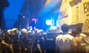 İstanbul'da kayyum protestosuna polis müdahalesi