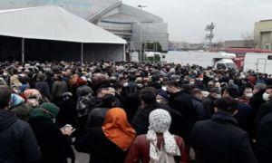 AKP İstanbul 7. Olağan Kongresi de 'lebaleb' doldu