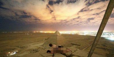 Piramitte cinsel ilişkiye girmişti… İki kişi gözaltına alındı