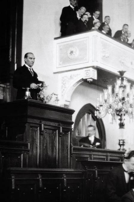 Mustafa Kemal Chp Kurultay'da Gazi Mustafa Kemal