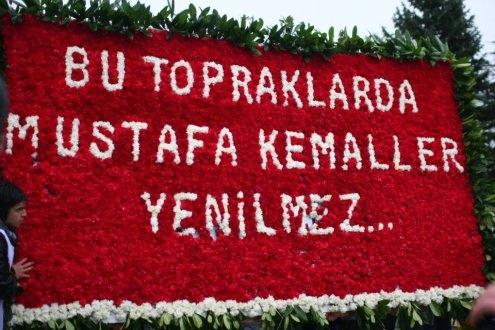 Atatürk'te birleştik. Siz nerelerdesiniz?