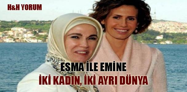 Esma ile Emine; İki kadın, iki ayrı  dünya