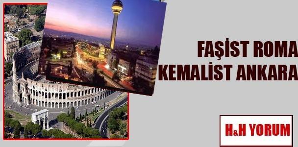 Faşist Roma, Kemalist Ankara