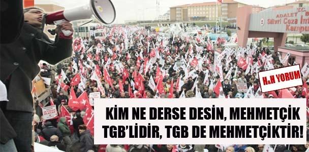 Mehmetçik TGB'lidir, TGB Mehmetçiktir
