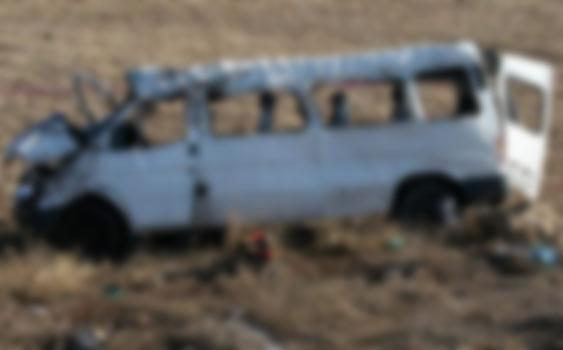Kütahya'da minibüs devrildi: 9 yaralı