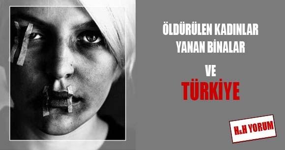 Öldürülen kadınlar, yanan binalar, İngiltere ve Türkiye