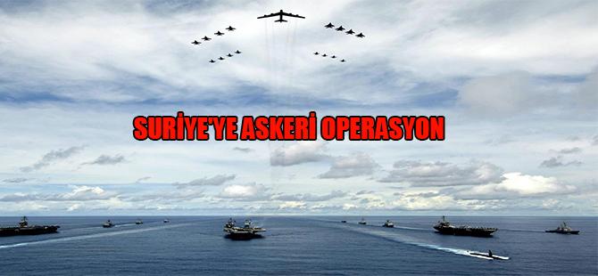 Suriye'ye askeri operasyon
