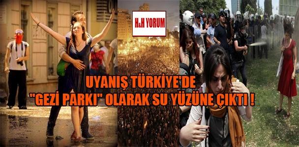 """Uyanış Türkiye'de """"Gezi Parkı"""" olarak su yüzüne çıktı"""