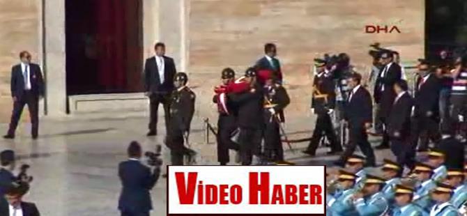 Türk Silahlı Kuvvetleri Anıtkabir'de tören düzenledi