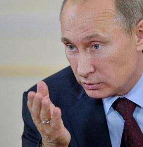 Putin: Kimyasal saldırı provoke