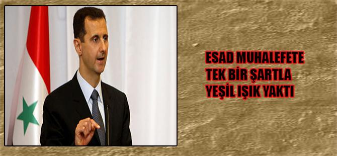 Esad muhalefete tek bir şartla yeşil ışık yaktı