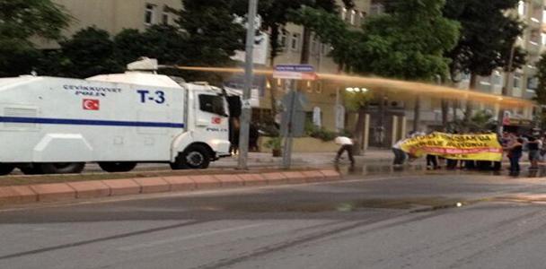 Adana'da polis müdahalesi