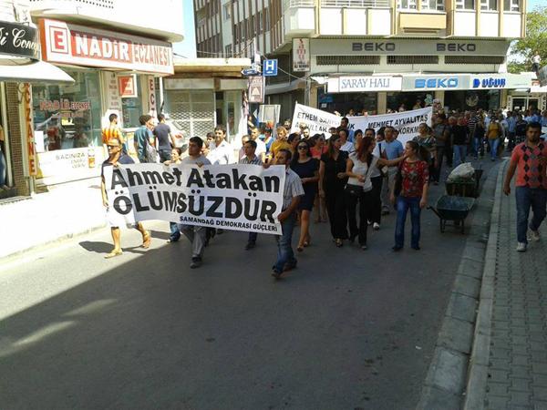 Ahmet Atakan'ı binler uğurladı