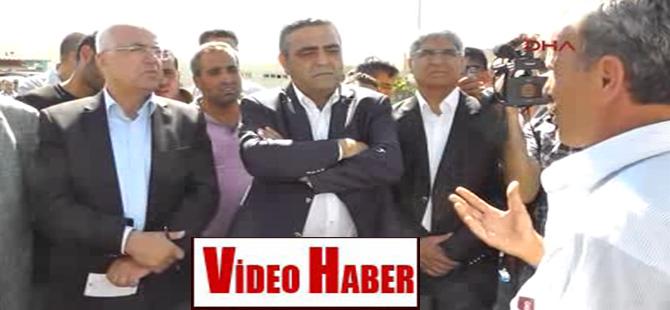 CHP Heyeti Habur'da şoförleri dinledi