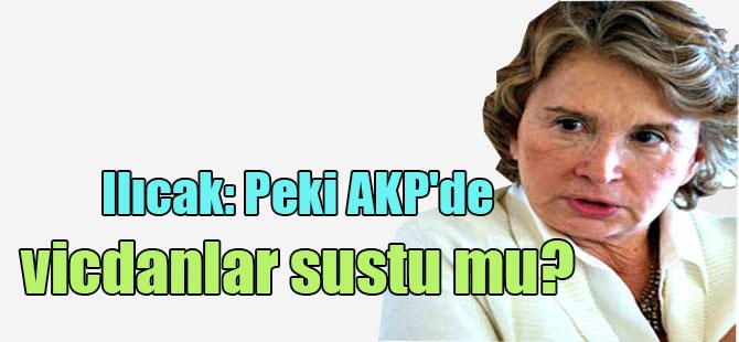 Ilıcak: Peki AKP'de vicdanlar sustu mu?