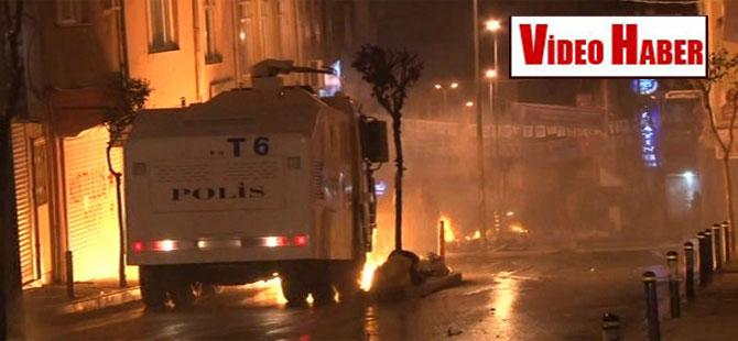 Okmeydanı'nda polis müdahalesi!