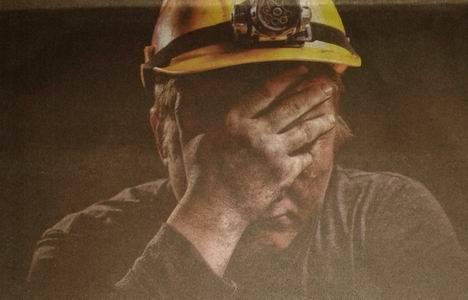 40 işçi 3 gündür yerin 140 metre altında eylemde