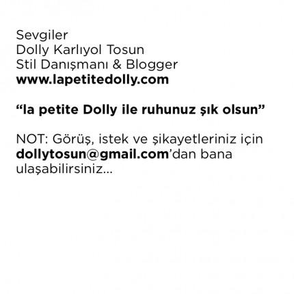la petite dolly ile ruhunuz şık olsun