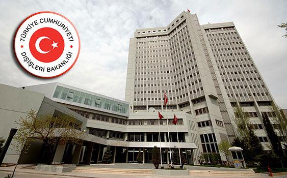 Dışişleri Bakanlığı ve CHP'den Türk Bayrağına yapılan saldırıya tepki
