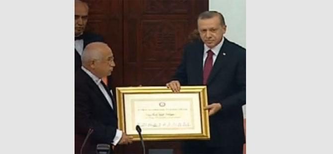 Erdoğan artık resmen Cumhurbaşkanı