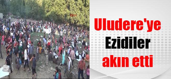 Uludere'ye Ezidiler akın etti