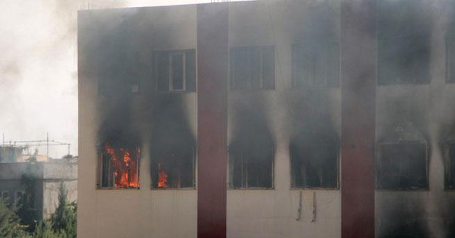 Öğrenci yurdu ikinci kez yakıldı