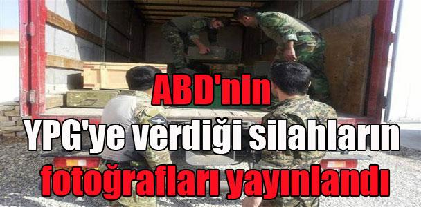 ABD'nin YPG'ye verdiği silahların fotoğrafları yayınlandı